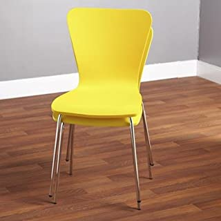 yellow bentwood chair
