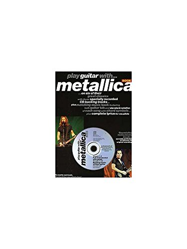 Play Guitar With... Metallica Book 2. Partitions, CD pour Tablature Guitare(Symboles d'Accords