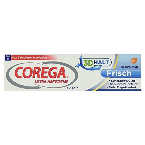 Corega 0338986 Ultra Haftcreme Frisch, 40 g