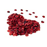 3000 Pcs Rose Petals Artificial Silk Flower Petals for Valentine Day Wedding Party Flower Decoration
