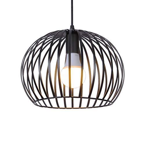 Marco esférica de hierro pendiente de la luz ahueca hacia fuera el colgante de la lámpara 1-Luz Para Isla de cocina, cafetería, sala, sala de estar, dormitorio de techo luces E27 comedor