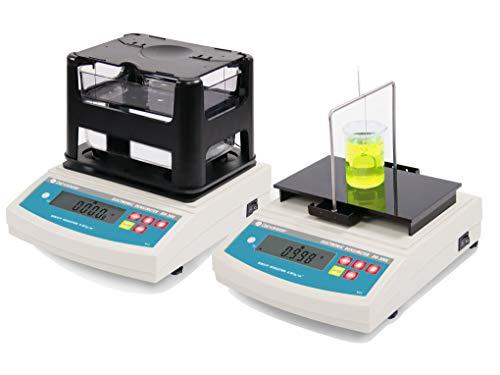 Huanyu DH-300X Medidor de densidad/instrumento de densímetro electrónico de doble uso económico, sólido y líquido