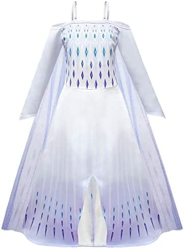 ugoccam Princess Girls Cosplay Dress Halloween Cosplay Costume Girls 110 Blue product image