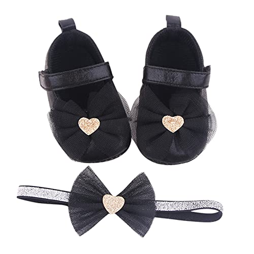JDGY 2 unidades de zapatos para niños pequeños + cinta para la...