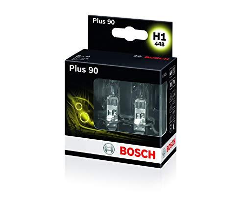 BOSCH Autolampenset H1 Plus +90, Doppelbox