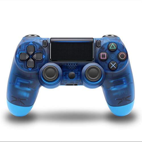 Contrôleur de jeu Manette de Jeu sans Fil Bluetooth contrôleur d'ordinateur Accessoires de Jeu à Domicile (Color : Blue-B, Size : 15.6 * 10.2 * 6cm)
