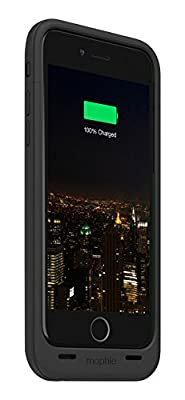 mophie juice pack plus - Protective Mobile Battery Pack Case for Apple iPhone 6/ iPhone 6s - Black from Mophie