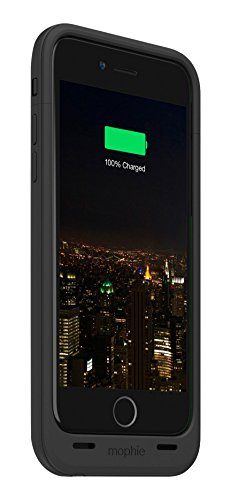Mophie Juice Pack Plus Rechargeable External Battery Case (3,300mAh) für Apple iPhone 6 schwarz