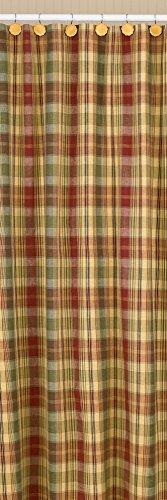 """Park Designs """"Saffron"""" Country Shower Curtain 72""""x72"""""""