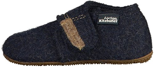 Living Kitzbuhel Babyklettschuh Lauflernschuhe, Blau (Nachtblau 590), 25 EU - 4