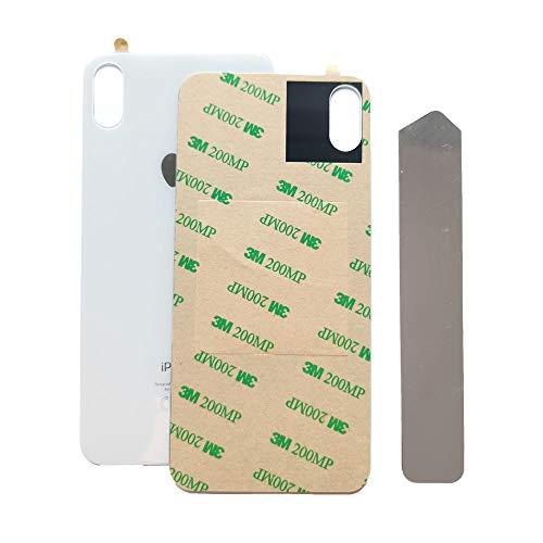 GSHENG Tapa trasera de batería de cristal compatible para iPhone XS de...