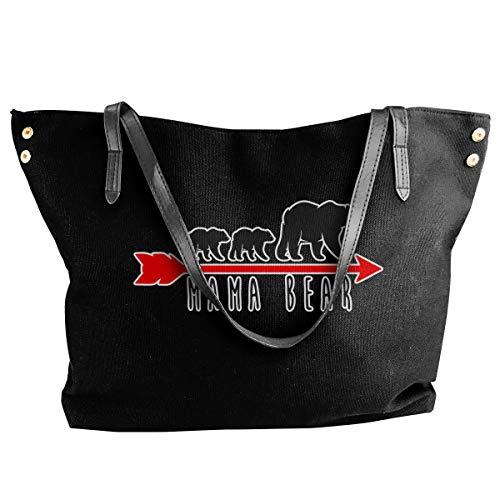 Mama Bear Drawstring Bulk Bags Sacos Cinch Mochila Pull String Bags 12.9x18 Pulgadas