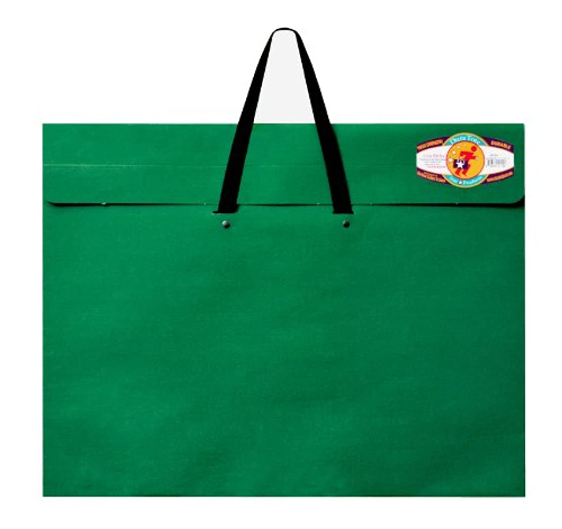 Star Products Classic Dura-Tote Portfolio 20-Inch by 26-Inch, Green with Reclosable Fastener