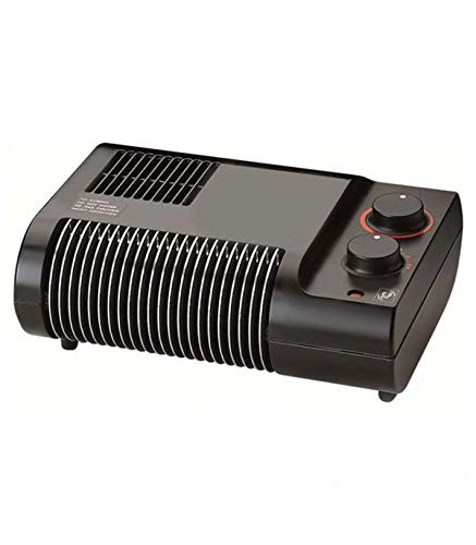 Soler & Palau TL-20 N - Calefactor (Piso, Negro, 2000 W, 1000 W, 230 V, 50 Hz)