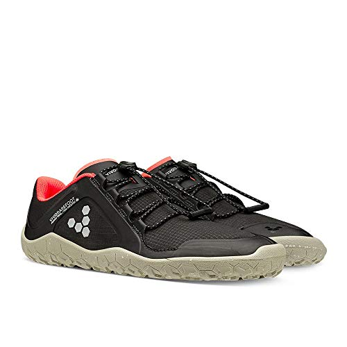 VIVOBAREFOOT Primus Trail Winter Firm Ground - Zapatillas de senderismo para mujer, color Negro, talla 37 EU Weit