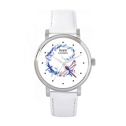 Toff London Reloj de libélula giratoria