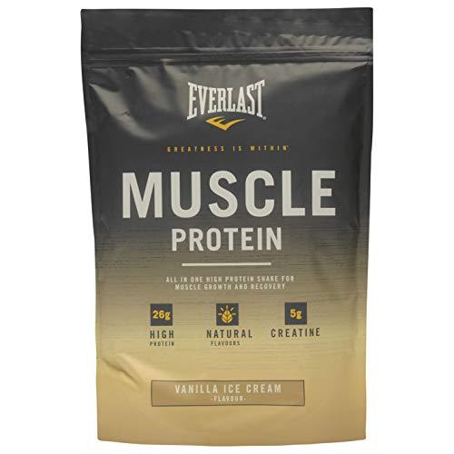 Everlast Unisex Muscle Protein Powder Nutrition Vanilla Ice One Size