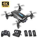 YWEN Mini Drone with 4K HD Camera for Adults and Kids FPV Camera, Foldable RC Quarcopter with...