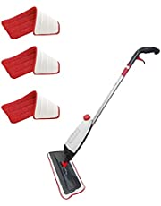 A&H Easy Clean Spray Mop with 3 Free Towels, Silver