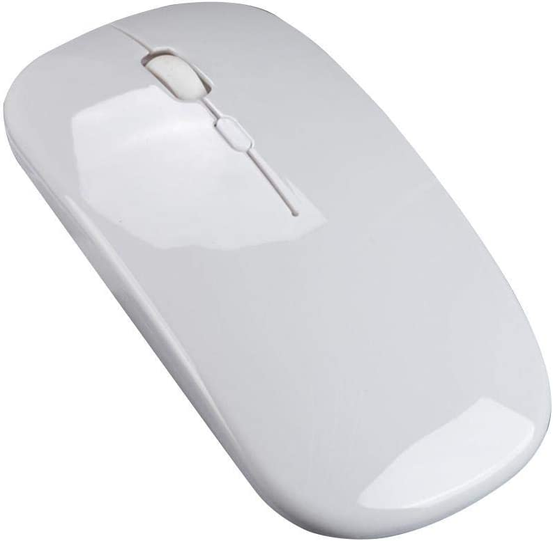 Dozenla 2.4GHz Wireless Charging Mouse Ultra-Thin Silent Mouse for Office Use Mice