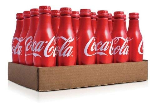 Coca Cola Aluminum Bottle 8.5 Ounce (24 Bottles) (Coca Cola)