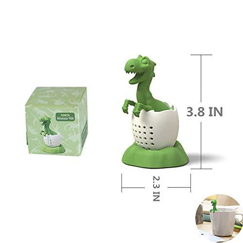 Cute Animal Loose Leaf Tea Infuser/Food Grade Silicone Tea Strainer For Loose Tea/A Tea Strainer Gift Full of Creative Fun