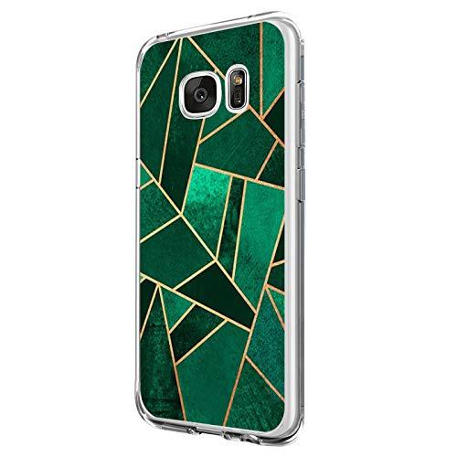 Funda Compatible con Galaxy S6/Galaxy S6 Edge, Funda para Suave Silicon Ultra Slim Fina Protección a Bordes y Cámara Compatible con Galaxy S6 Edge Plus -Transparente (Samsung Galaxy S6, 3)