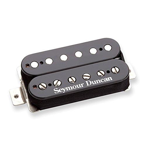 Pastilla de guitarra Seymour Duncan SH-6 Duncan Distortion humbucker. Posición de puente. Negro.