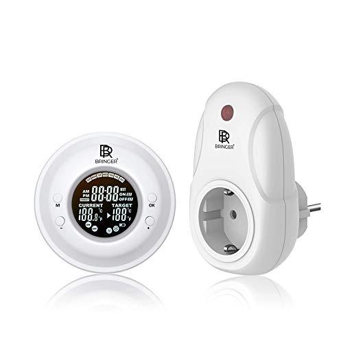Bringer Fernbedienung mit Thermostat für Infrarotheizung Infrarot Wandheizung Heizung Heizkörper