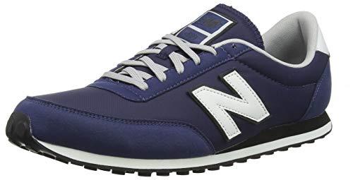 New Balance 410, Zapatillas Unisex Adulto, Azul (Navy/White Orange), 42 EU