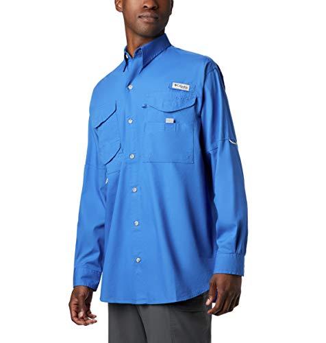 Columbia Men's Long Sleeve Shirt Bonehead, bleu vif, X-Small
