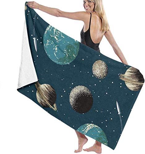 Las toallas de baño de microfibra súper suaves se utilizan para baños en interiores, piscinas de aguas termales y spa de hoteles,Manta de gran tamaño para adolescentes con ducha de natación y es