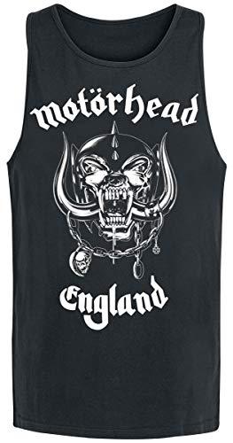 Motörhead England Männer Tank-Top schwarz XL 100{6a44c70ee4f22a63cf053cdc4e36d211486b48c5afec24fffc3ff6e72fc5acb5} Baumwolle Band-Merch, Bands