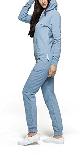 OnePiece Unisex Original Jumpsuit, Blau (Dusty), 42 (Herstellergröße: XL) - 4