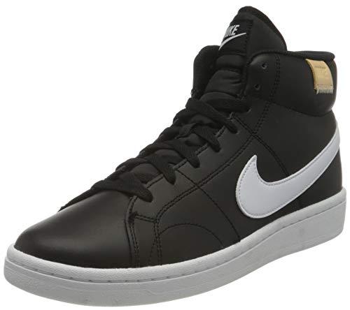 Nike Court Royale 2 Mid, Sneaker Hombre, Black White White Onyx, 45 EU