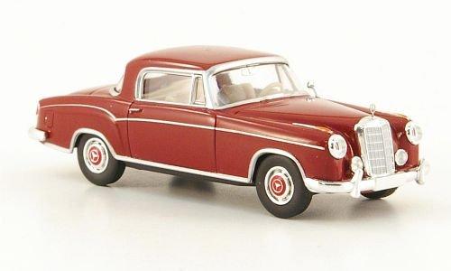 Mercedes 220 S Coupe (W180 II), rot, Modellauto, Fertigmodell, Brekina Starmada 1:87