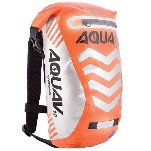 Oxford Aqua V 12 Extreme Visibility Waterproof Reflective Backpack - Orange
