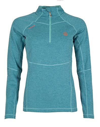 Ternua Camiseta Momhil Top W Mujer, Blue Curacao, XS