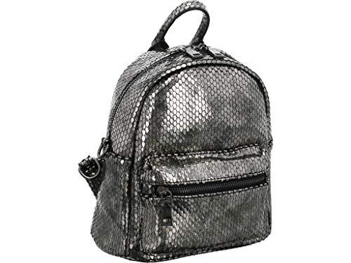 Buffalo Backpack Mini Größe One Size Silber (Altsilber)