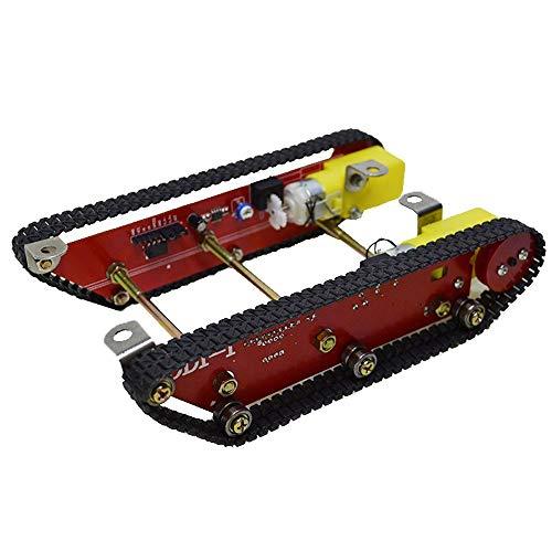 WYY Robot Inteligente del Tanque del Coche Orugas Chasis Pista con La Velocidad...