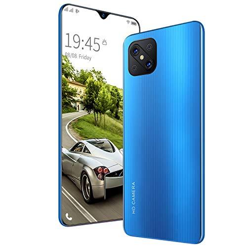 GELEI Handy, Smartphones, Android 9.0 Dual SIM Free Smartphones Unlocked, Big Battery,Blau