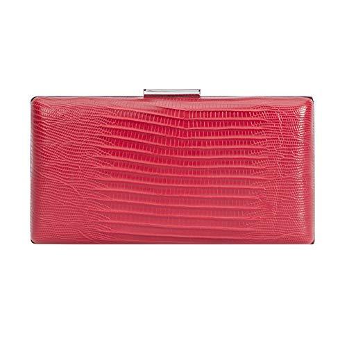 Parfois - Clutch - Clutch Grabado Serpiente - Mujeres - Tallas M - Rojo