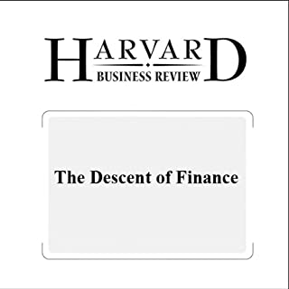 The Descent of Finance (Harvard Business Review) cover art