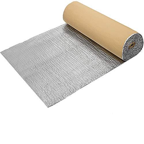 Mophorn Reflektierende Folie 1X26m Dicke 3mm Isolierplatten Temperaturbereich -40 ℃ -80 ℃ für Garagentor-Außenrohr Wärmedämmung reflektierende Folie Air Bubble(1X26m)