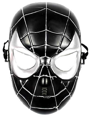 Maschera Spiderman Nero Bambino Per Carnevale Da 5-7 Anni Mascherina Uomo Ragno Giochi E Accessori Cosplay Per Travestimenti E Costumi Fantastica Idea Regalo Per Natale O Compleanno