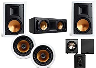 Klipsch R-5650-WII In Wall System (RC-62II Center-FREE BIC Acoustech PL-200)