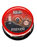 Maxell CD-R XL II Audio Pro 80min, 25 pièces en cake box