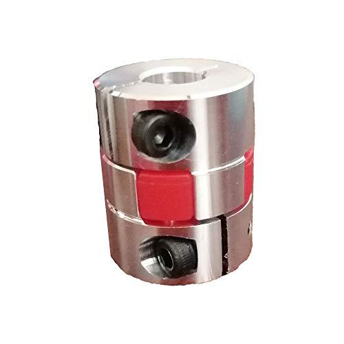 1pc D20L25 de 4 mm a 10 mm de Aluminio XB Acoplamiento Flexible for Motor de Pasos del acoplador órganos de Acoplamiento 3D de la Impresora Piezas de Accesorios (tamaño : 5mmx6.35mm)