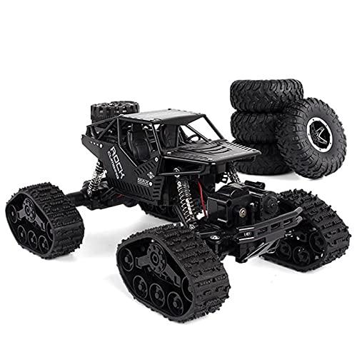 Kikioo Eléctrico RC Car Rock Crawler Big Foot Control Remoto Juguetes 2.4G...
