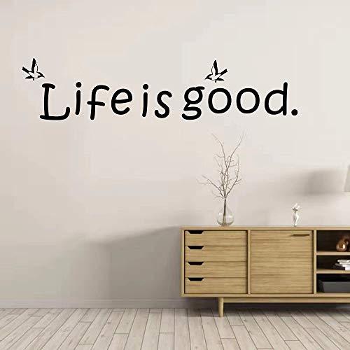Sea hermoso citas inspiradoras pegatinas de pared estudio vinilo pegatinas de pared baño decoración de la pared del hogar calcomanía de pared letras